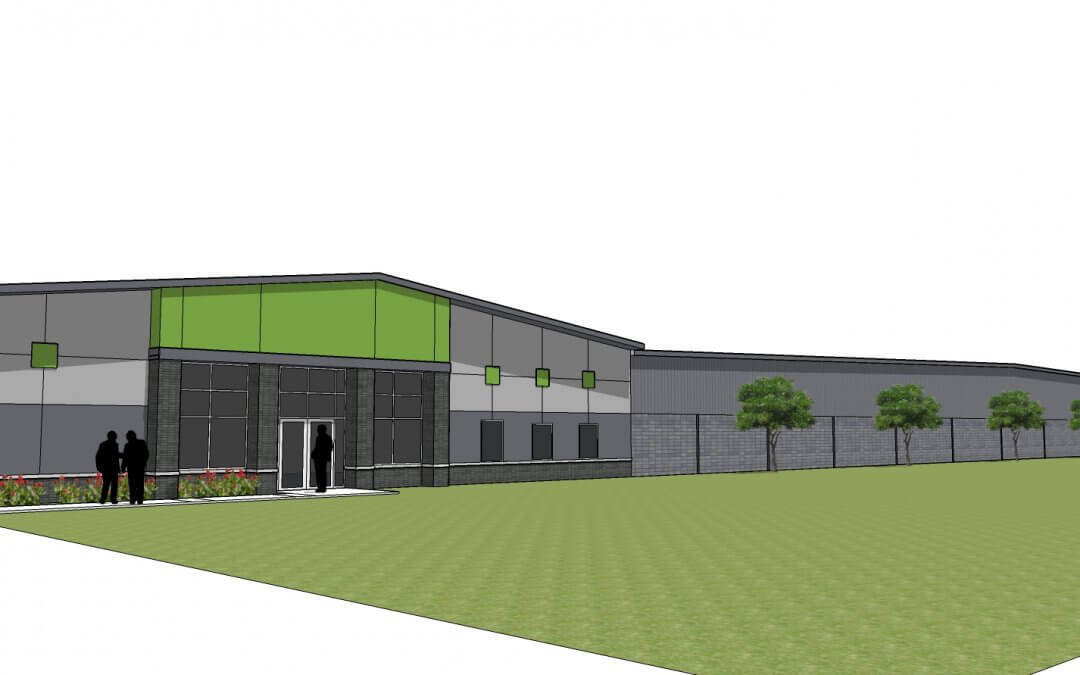 Ancon Designs and Builds New Home for Burns Rent-Alls, Inc.