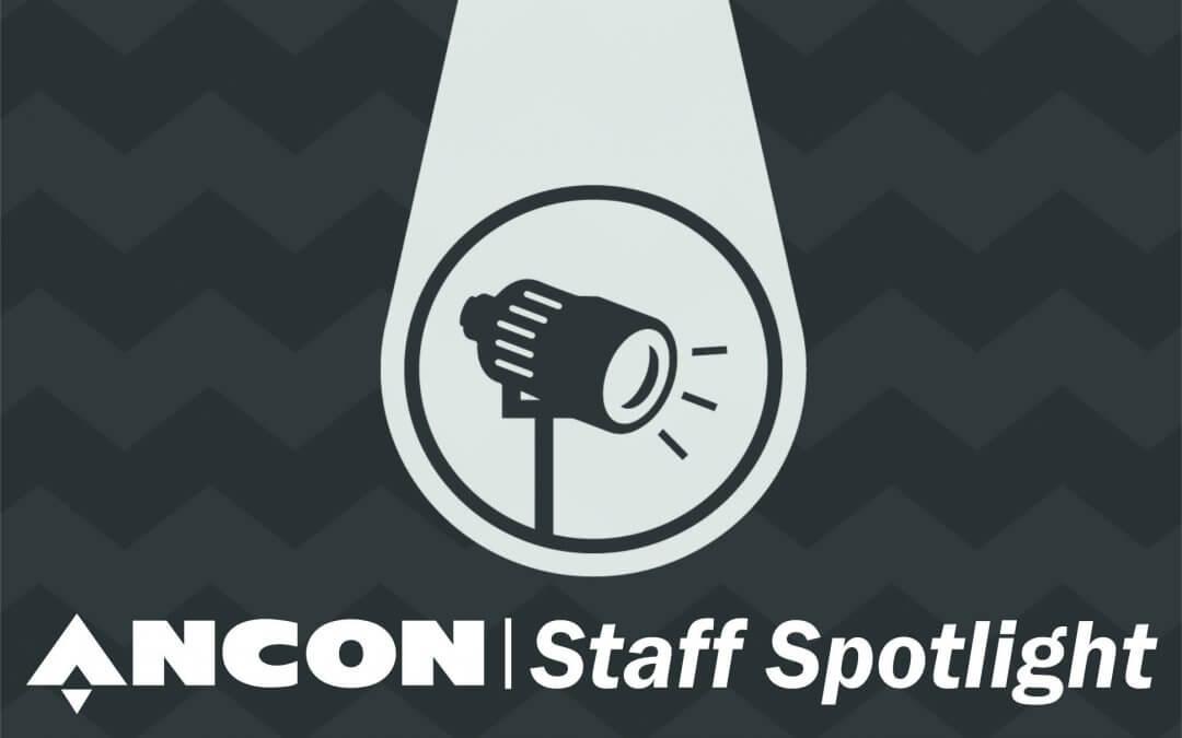 Meet Matt, this weeks Ancon Staff Spotlight