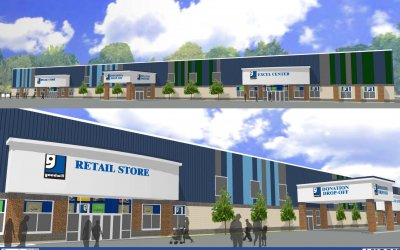 Ground Breaking for Goodwill's First Campus Location