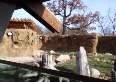 Potawatomi Zoo River Otter Exhibit