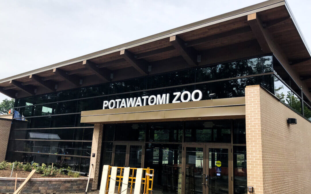 Potawatomi Zoo Entrance