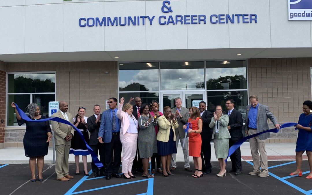 Introducing the new 105,000 Sq. Ft. Goodwill Gary, Indiana Campus