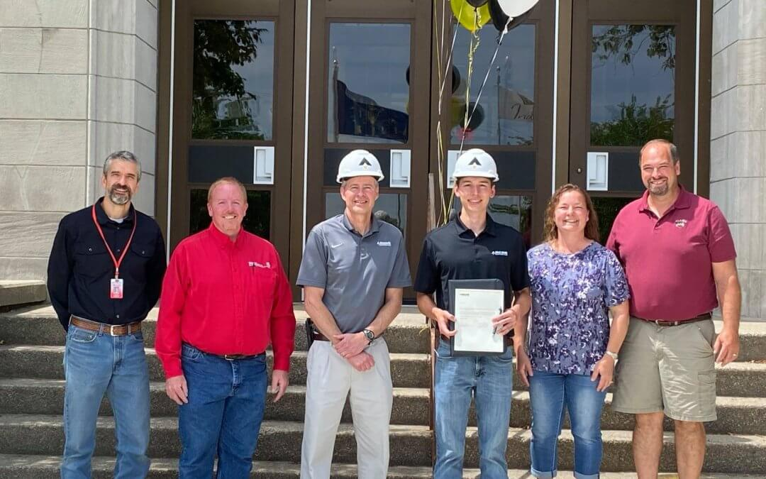 Local GHS Student Lands Career at Ancon Construction